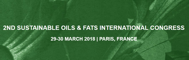 SUSTAINABLE OILS & FATS INTERNATIONAL CONGRESS